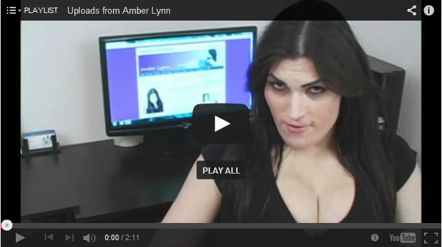 Transsexual Amber Lynn Talks About Her Natural Breasts